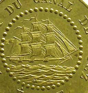 French colonial coinage