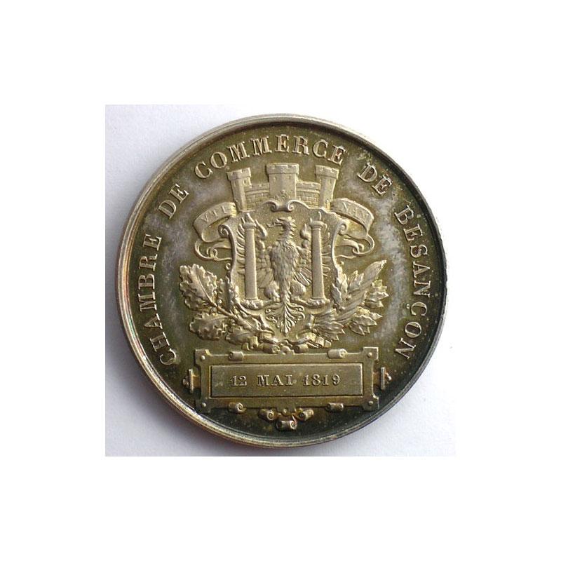 Numismatique du commerce et de l 39 artisanat chambre de for Chambre de commerce besancon