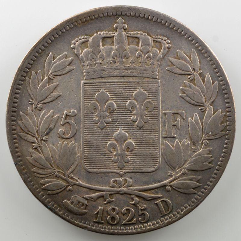 1825 D  (Lyon)    TB+/TTB
