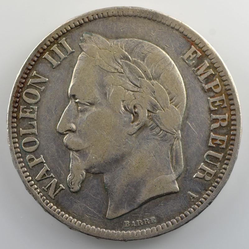 1865 A  (Paris)    TB+