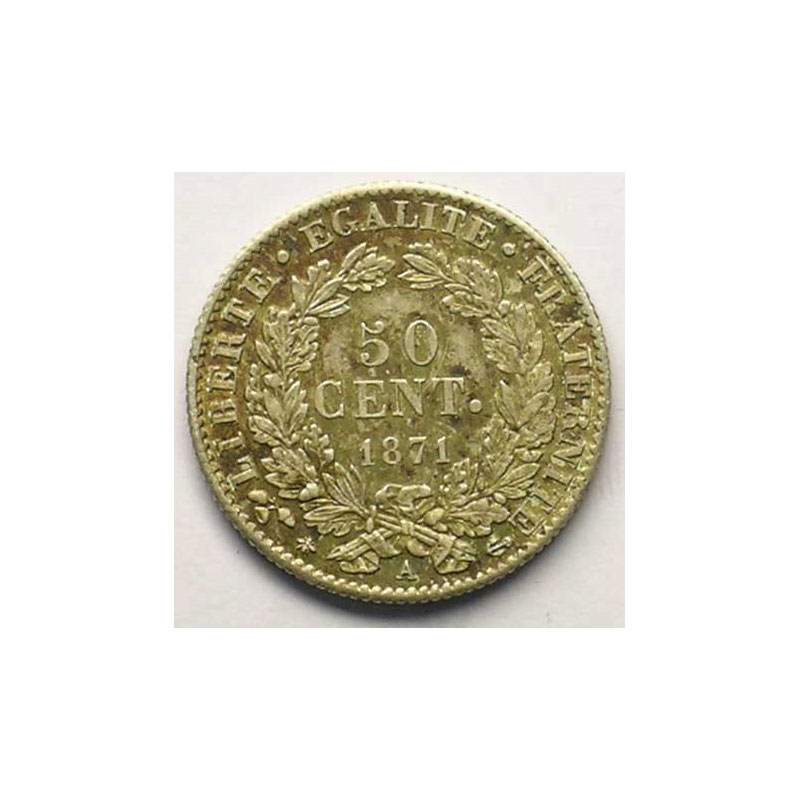 1871 A  (Paris)    TTB+/SUP