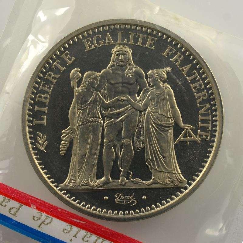 G.813P   10 Francs   1971 Piéfort en argent    FDC