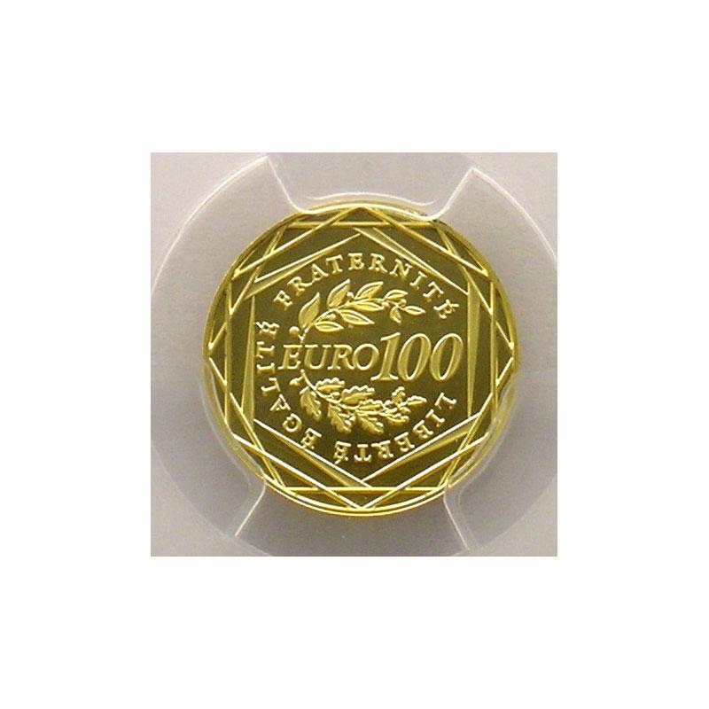 100 €   2009    PCGS-MS69    BE