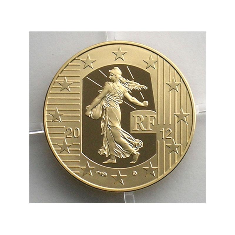 50 €   2012   10° anniversaire de l'introduction de l'Euro    BE