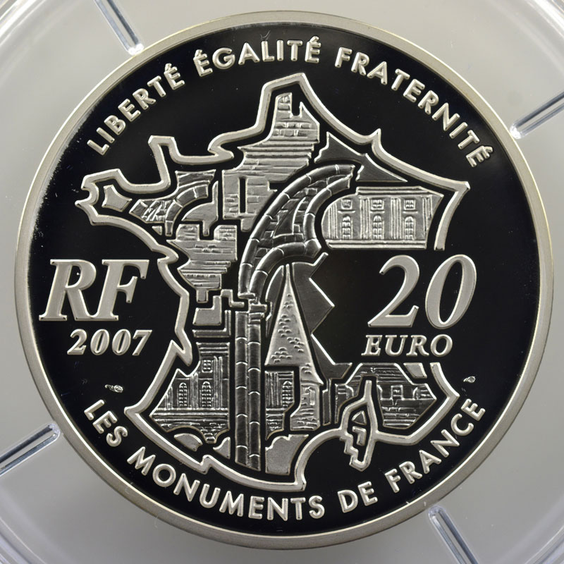 20 €   400 ans du Pont Neuf   2007   155,5 g argent 950 mill.    BE