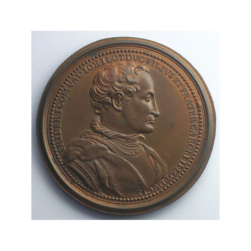 Ferry I, Comte de Vaudémont   bronze   47,5 mm    SUP