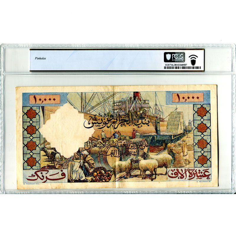 10000 Francs   24-5-1957    TTB    PCGS-VF30