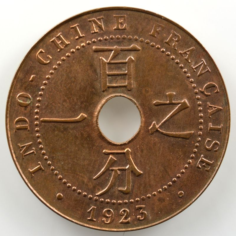 Lec.92   1 Cent   1923 poissy    FDC