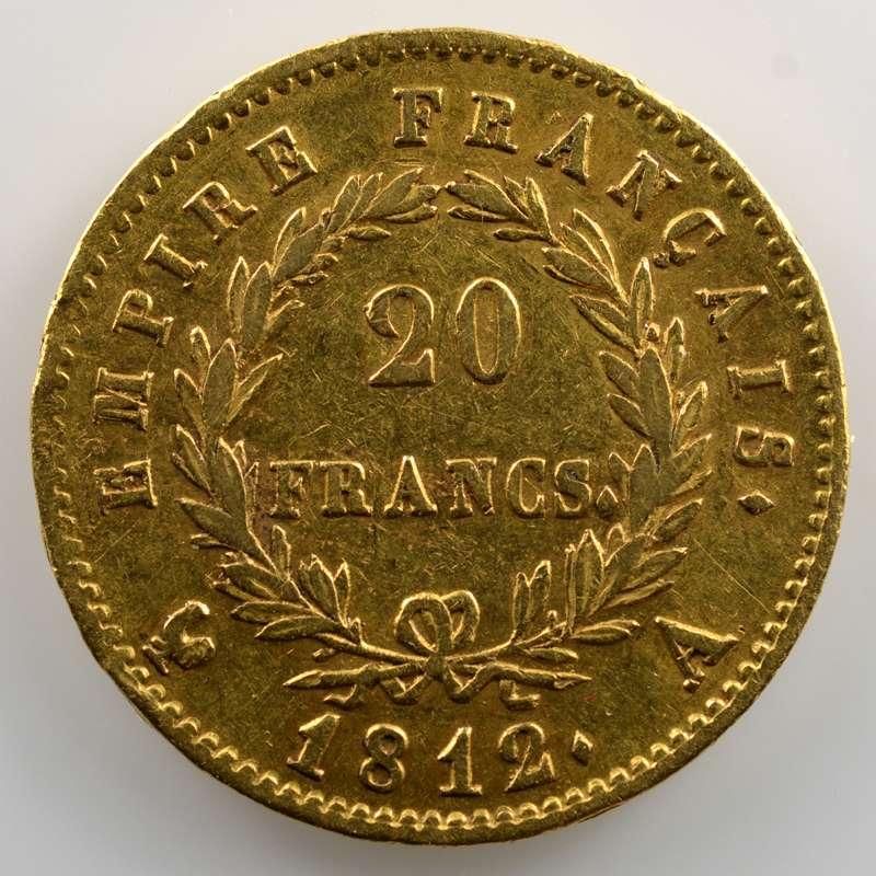 1812 A  (Paris)    TTB