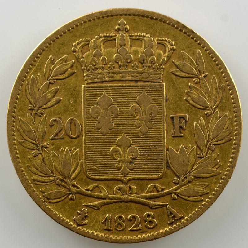 1828 A  (Paris)    TB+/TTB