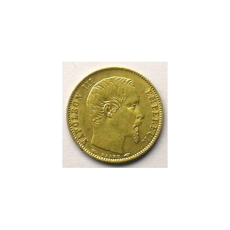 1855 A tranche cannelée    TTB