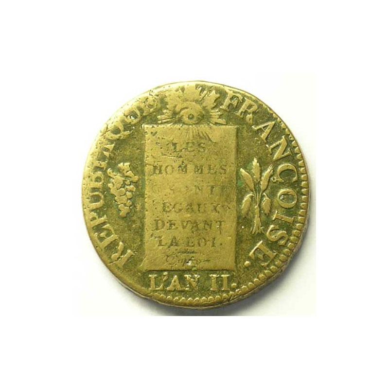 1793 D.  (Dijon)    TB+