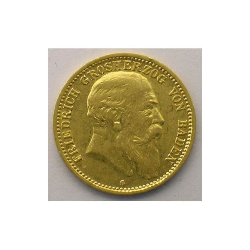 10 Mark   1904 G  (Karlsruhe)    TTB