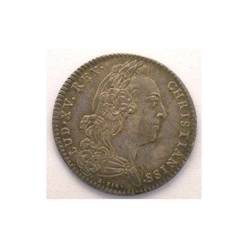 Royal tokens chambre aux deniers jeton rond en argent for Chambre louis xv