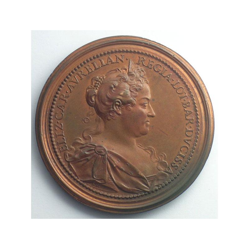 Léopold I   bronze   47 mm    SUP