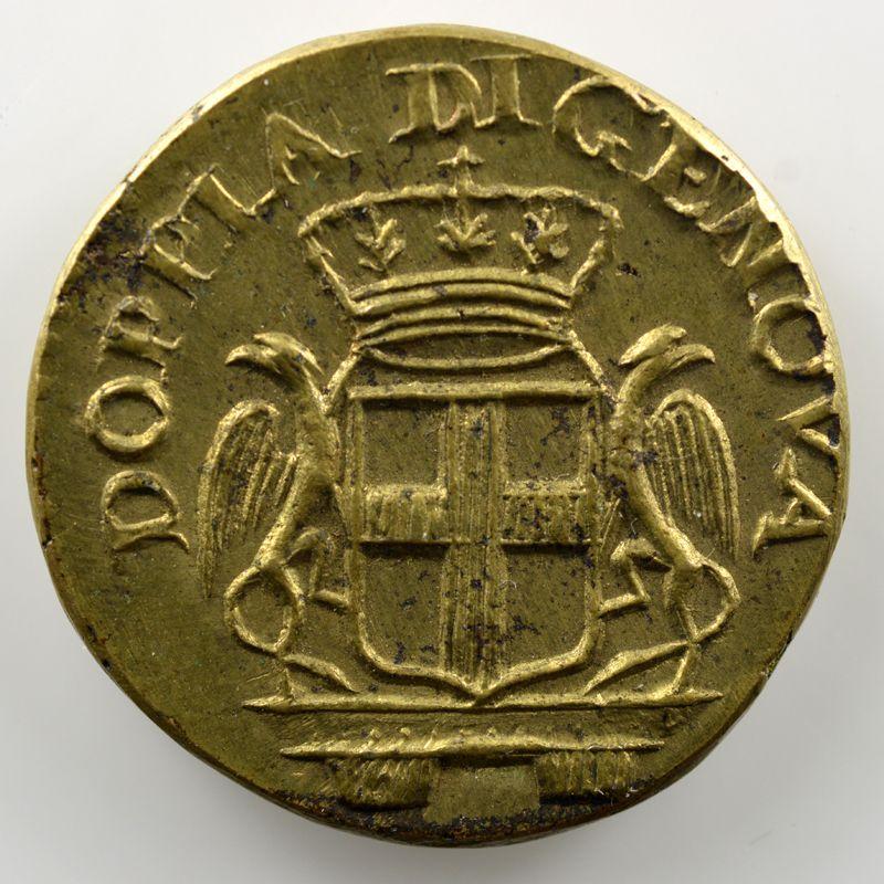 Poids monétaire du 24 Lires de Gênes    SUP