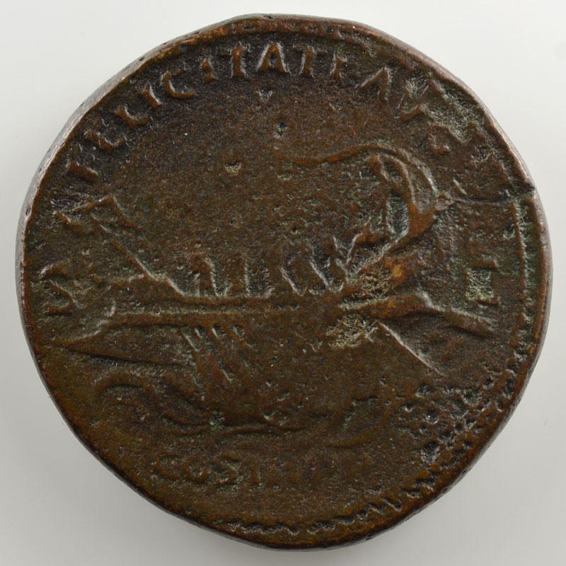 R/ FELICITATI AVG COS III PP  SC   (Rome 131)    TB
