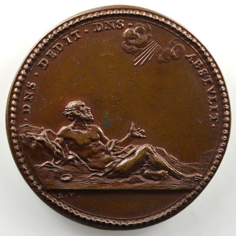 Ferdinand de Saint-Urbain   Médaille en bronze  39mm   Jean XXII (Pape de 1316 à 1334)    SUP/FDC