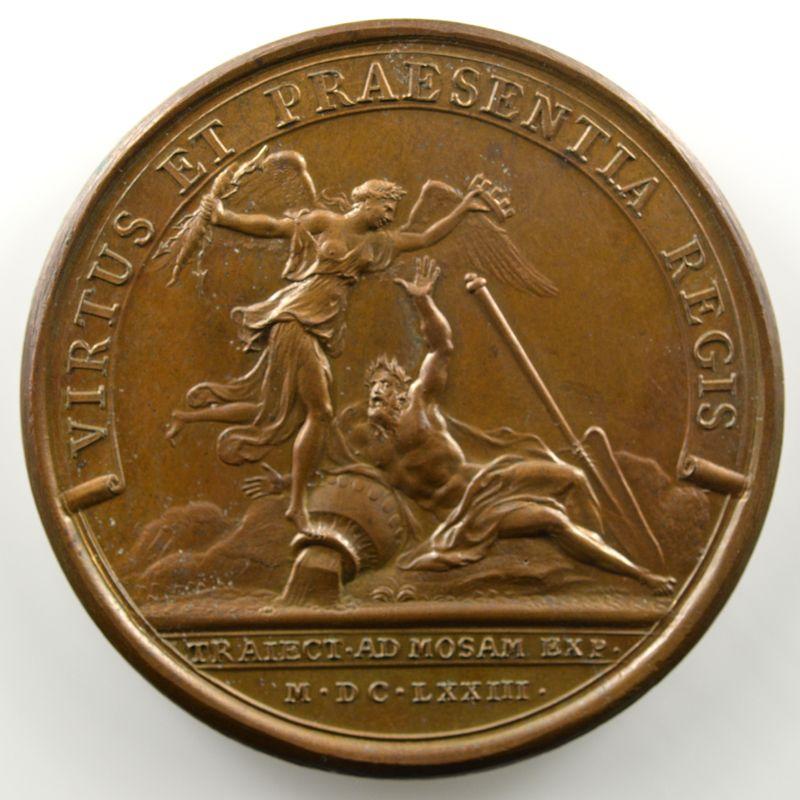 MAUGER   Prise de Maastricht   bronze   41mm    SUP/FDC