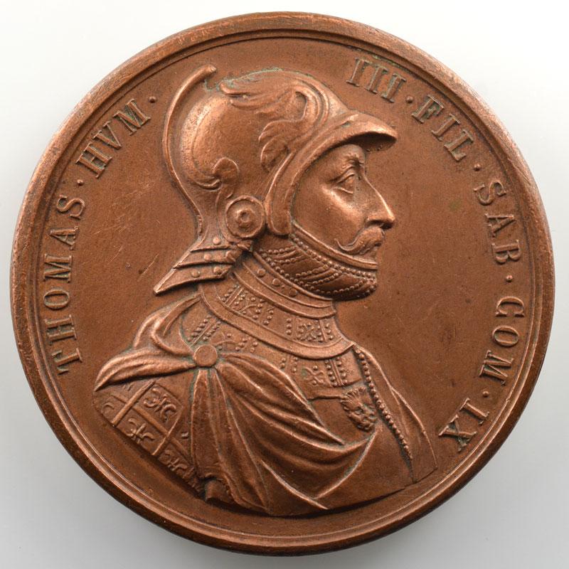 (Lavy)   Médaille en bronze  52mm   Thomas I (1189-1223)    TTB+
