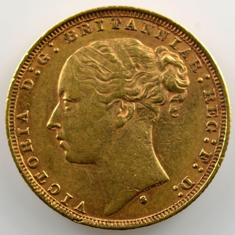 Souverain / Sovereign   1879 S (Sydney)    SUP