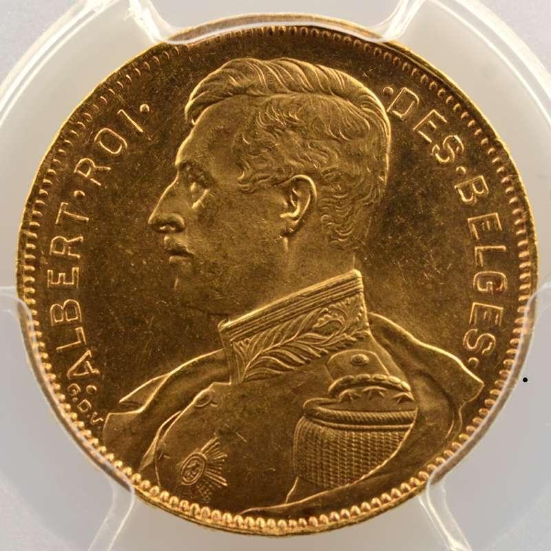 20 Francs   1914  légende française   position A    PCGS-MS64    pr.FDC