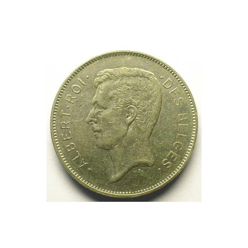 20 Francs - 4 Belgas   légende française   1932    TTB