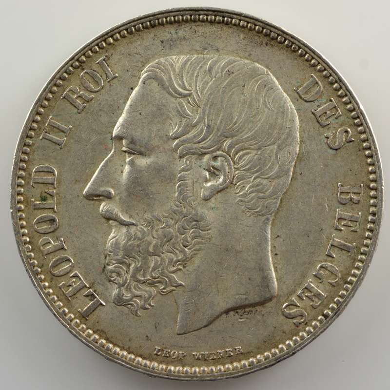 5 Francs   1868  position A    TTB+/SUP