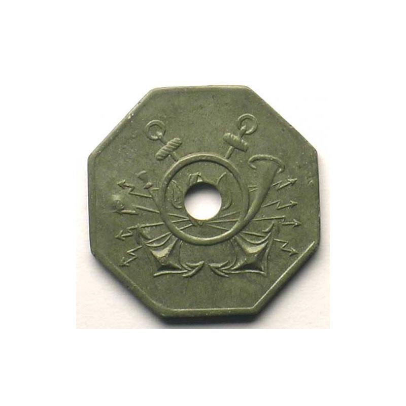 Ostende   S.E.O. (Spaarzaamheid Economie)   SVI   Zn, 8 troué   22mm    TTB
