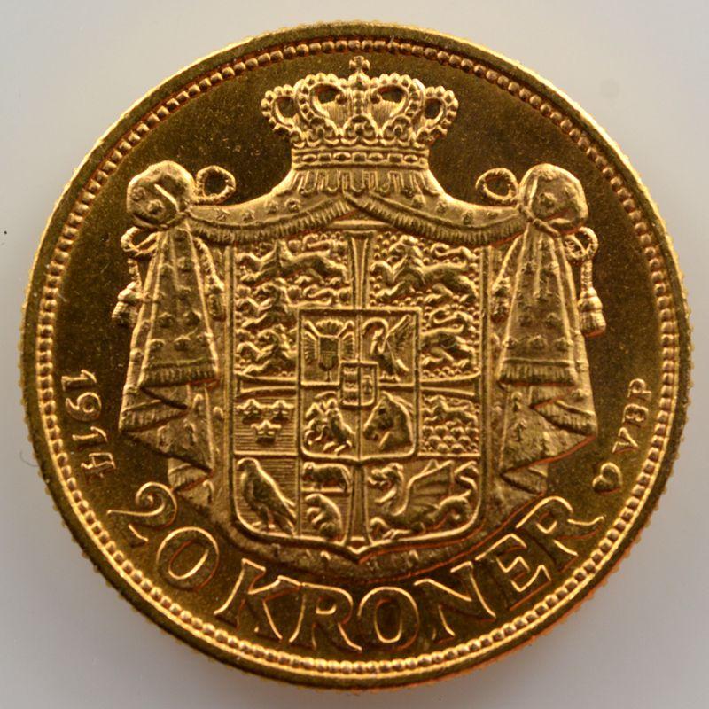 20 Kroner   1914    SUP