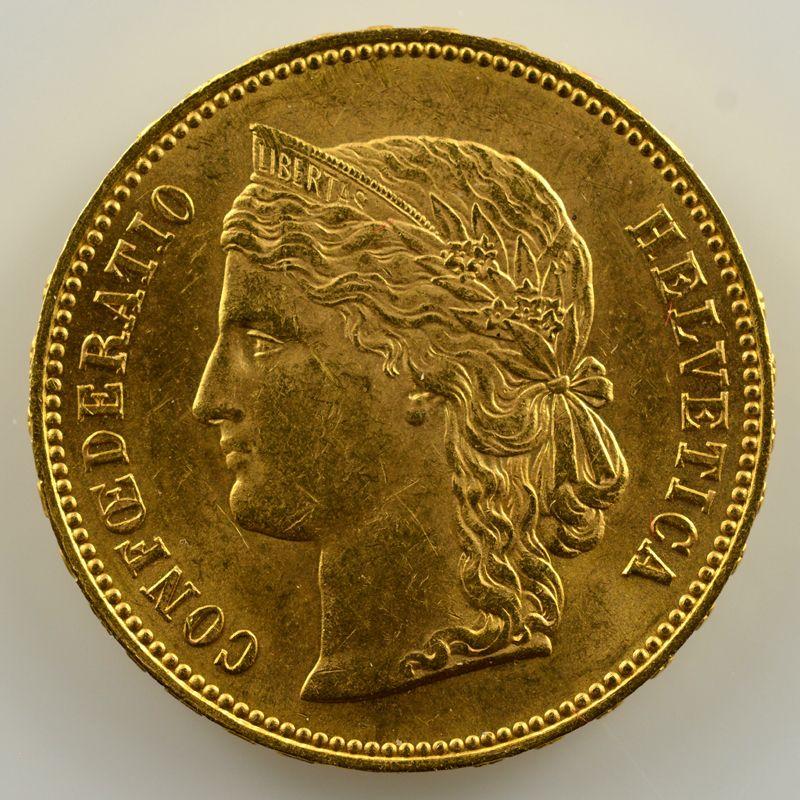 20 Francs   1894 B   SUP