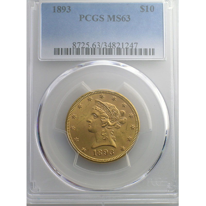 1893    PCGS-MS63    SUP/FDC