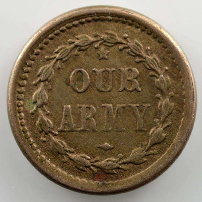 Token   1863   Our Army    SUP