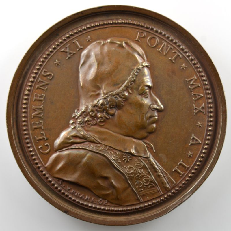 Ferdinand de Saint-Urbain   Médaille en bronze   52mm    SUP