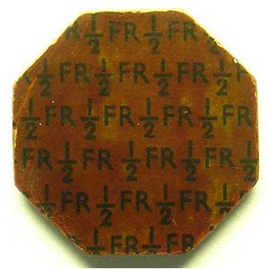 1/2 Franc   (1945)    SUP