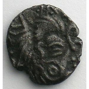 1/4 Statère à la lyre   1er siècle av. J.C.    TTB