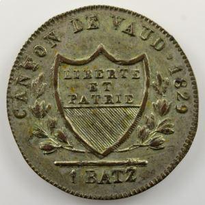 1 Batzen   1829    SUP