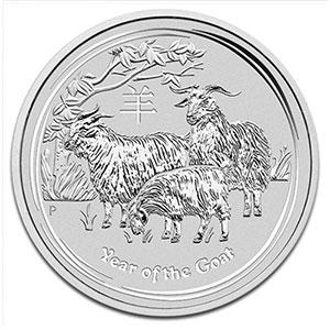 1 Dollar   2015   année de la chèvre (Year of the goat)    BE