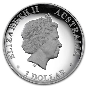 1 Dollar   2015   Australian wedge-tailed eagle    Proof