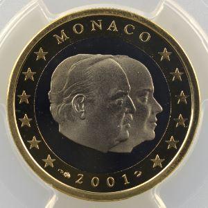 1 Euro   2001    PR68DCAM    BE
