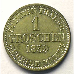 1 Groschen   1859    SUP