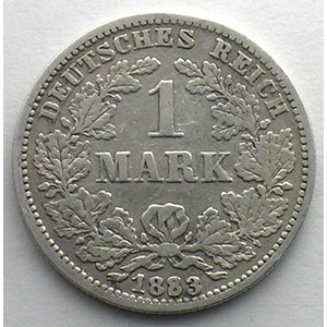1 Mark   1883 G    B/TB