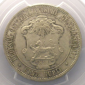 1 Rupie    1890    PCGS-MS63    SUP/FDC