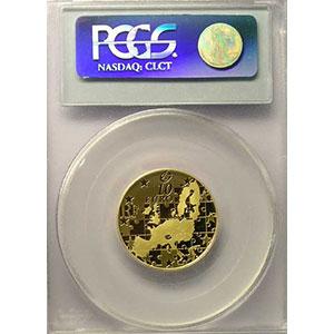 10 €   2004   or    PCGS-PR69DCAM    BE