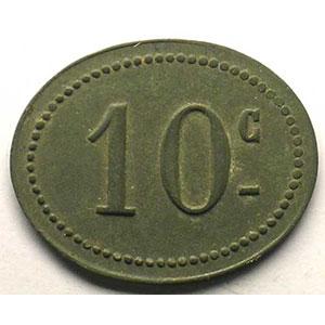10 c   Zn,Ov  20x25 mm   TTB+