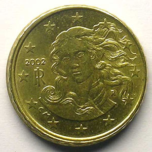 10 Cent.   2002   revers hors virole    SUP