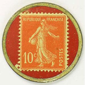 10 Cent rouge/rouge    TTB+
