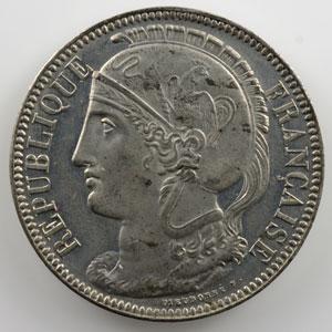 10 Centimes   1848   Concours de Dieudonné   étain    TTB+/SUP