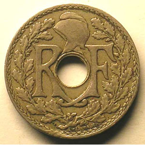 10 Centimes   1929    TTB