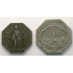 10 et 50 (Pf)   1918    TTB/TTB+